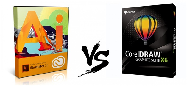 Comparison between Adobe Illustrator and Coreldraw