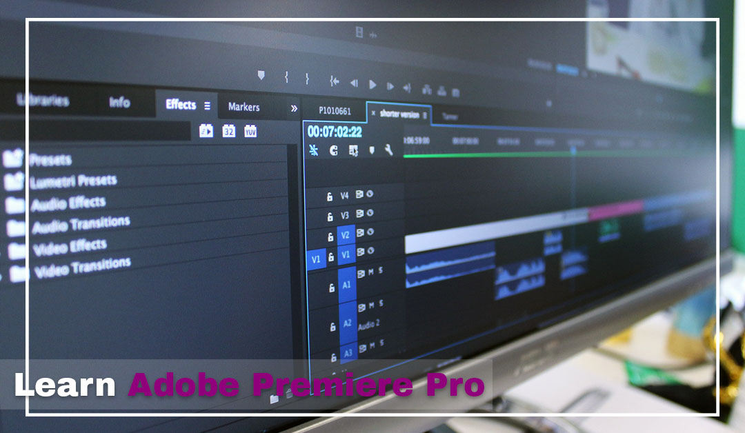 """Learn Adobe Premiere Pro Course from """"Pepper Animation"""" Institute"""