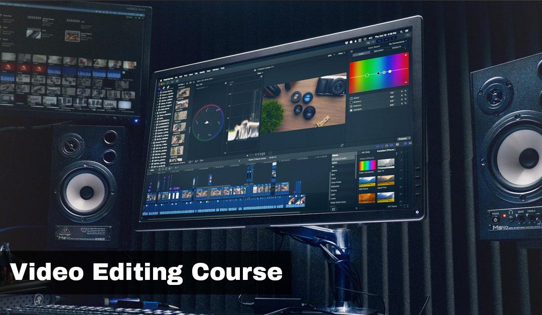 Video Editing Course Institute in Rohini