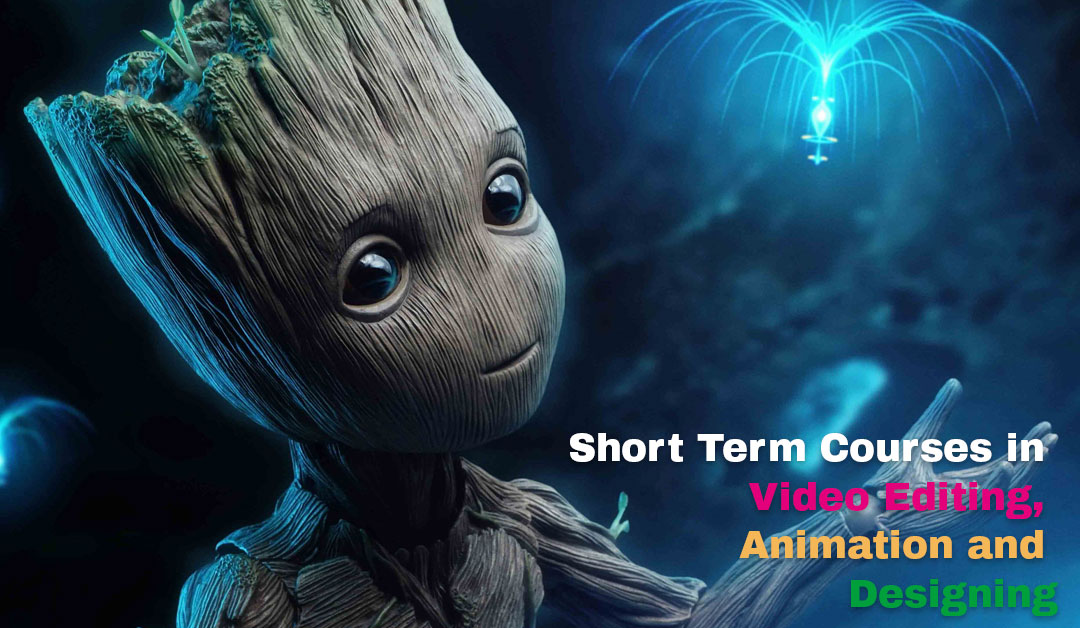 Short Term Courses in Video Editing, Animation and Designing