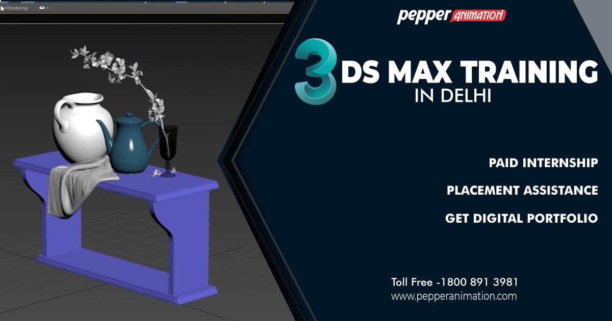 Best 3DS-Max Training Course in Delhi
