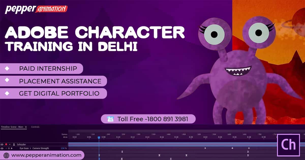 Adobe Character Animator Training in Delhi