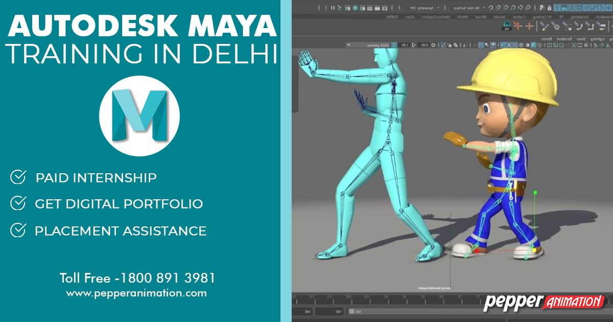 Best Autodesk Maya Course in Delhi