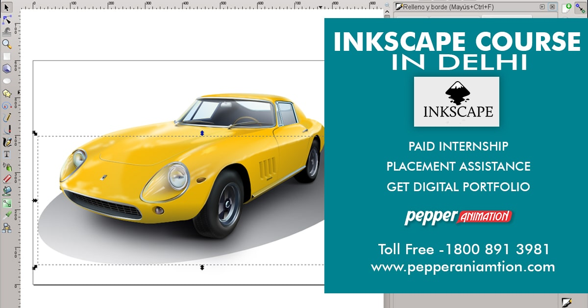 Best Inkscape Course in Rohini, Delhi